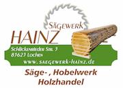Sägewerk Hainz, Massive Hochbeete aus Lärchenholz Logo